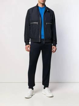 Karl Lagerfeld - куртка узкого кроя с контрастной подкладкой 66559956995668530000