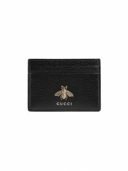 Gucci Animalier leather card case 523685DJ20T