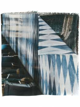 Faliero Sarti шарф с принтом I202239