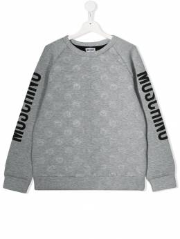 Moschino Kids толстовка Teddy Bear HUF02VLDB15