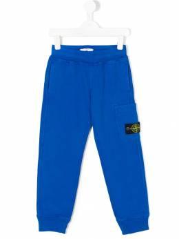 Stone Island Junior - спортивные брюки с логотипом 669356V6600909939950
