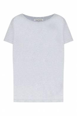 Серая меланжевая футболка Acne Studios 876143985