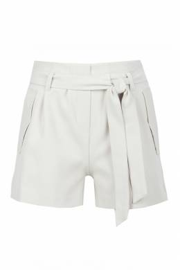 Бежевые шорты с завязками Blugirl 1916144404