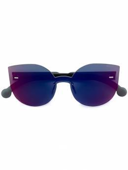 Retrosuperfuture массивные солнцезащитные очки 'Tuttolente Lucia' с инфракрасными линзами TUTTOLENTELUCIANXP