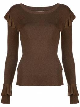 Alice+Olivia - свитер с оборками 69S59390930830930000
