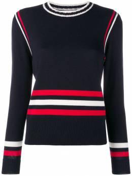 Chinti & Parker - свитер в полоску дизайна колор-блок 9NVY9393596300000000
