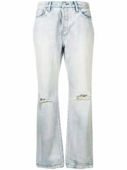 John Elliott - джинсы клеш с прорехами 83E58966L93585036000