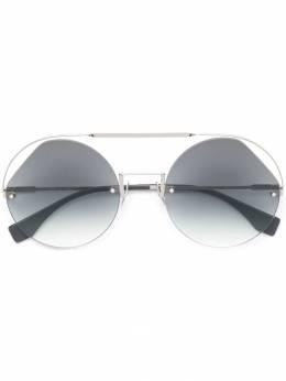 Fendi Eyewear - солнцезащитные очки 'Ribbons & Crystals' 305KB3569O9353530500