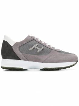 Hogan - кроссовки на шнуровке 66N6Q960JGF589L93558
