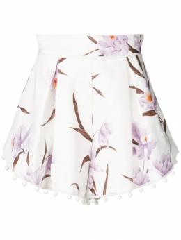 Zimmermann - шорты с цветочным принтом 3ACOR935569090000000