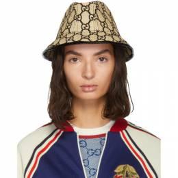 Gucci Beige Small GG Straw Hat 192451F01500102GB