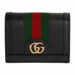 Gucci Black Ophidia Card Case Wallet 523155 DJ2DG