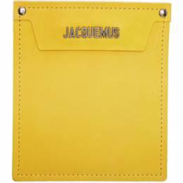 Jacquemus Yellow Le Porte Wallet 192553M16300101GB