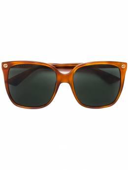Gucci Eyewear - объемные солнцезащитные очки 600S9999938900000000