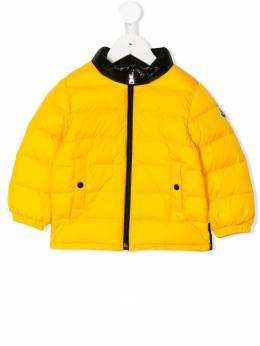 Moncler Kids куртка-пуховик 418940568352