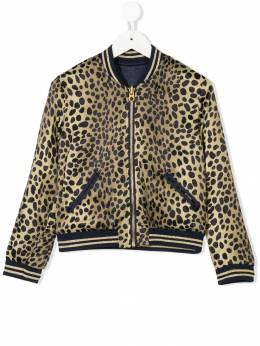 Little Marc Jacobs - leopard print reversible bomber jacket 693P6893999565000000