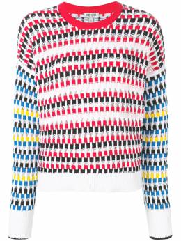 Kenzo cut-out jumper F952TO589846