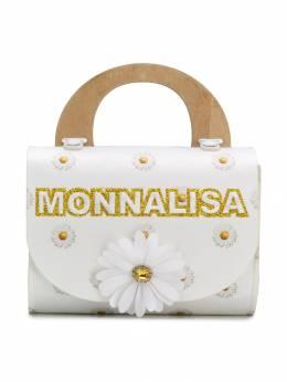 Monnalisa - сумка с цветочным принтом 66036569356039000000