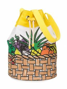 Stella McCartney Kids - сумка с принтом фруктов 066SMD95936556350000