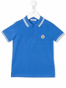 Moncler Kids - рубашка-поло с логотипом 83665658596W36993863