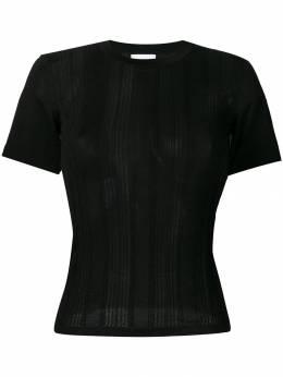 Barrie - приталенный свитер с короткими рукавами 83589399563300000000