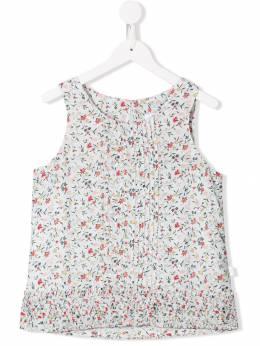 Chloé Kids - платье без рукавов с цветочным принтом A39Z56T9396906600000