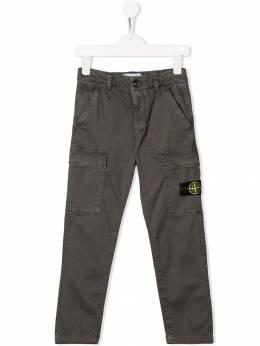 Stone Island Junior - брюки карго 63639093939598000000