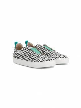 Gallucci Kids кроссовки в ломаную клетку J20148AMA9NB962K