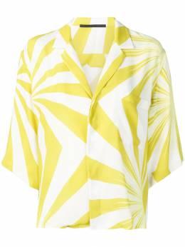Haider Ackermann - блузка свободного кроя с принтом 0666A333939309530000