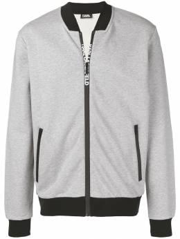 Karl Lagerfeld - спортивная куртка на молнии 69659996893956559000