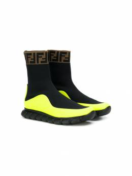 Fendi Kids slip-on sock-style sneakers JMR289A8CL
