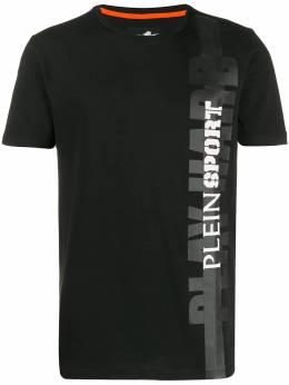 Plein Sport - футболка с логотипом CMTK3698SJY669N95963