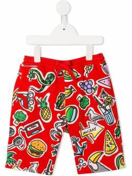 Stella McCartney Kids - шорты с принтом 958SMJE5936860950000
