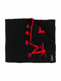 Dolce & Gabbana Kids - шарф с графичным принтом A93JAVIX950683690000