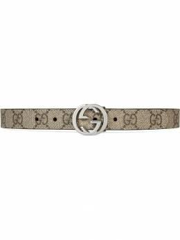 Gucci Kids - Children's GG Supreme belt 395KGD6N930083390000