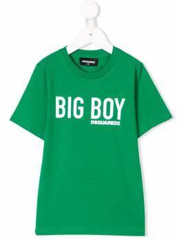 Dsquared2 Kids - футболка с принтом 'Big Boy' 3A0D66MQ935396350000