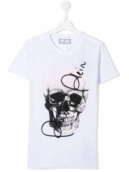 Philipp Plein Junior футболка с логотипом BTK0739PJY002N