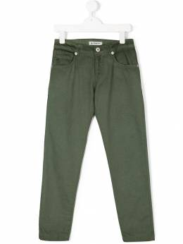 Dondup Kids - faded slim-fit trousers A063CE998RD665903508