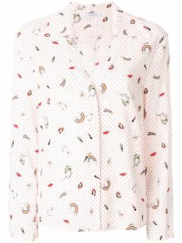 Vivetta - свободная рубашка с принтом V060VIV9066983000000