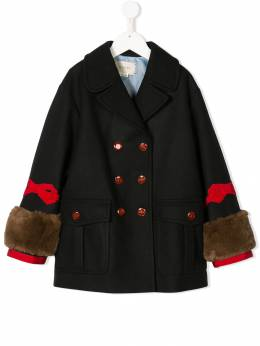 Gucci Kids - double breasted coat 566ZB896930999350000