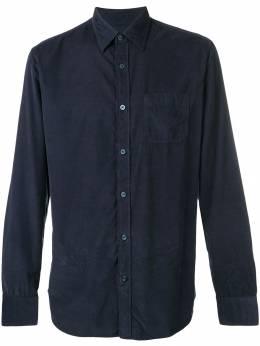 Z Zegna - вельветовая рубашка 6839XTYDV93539055000