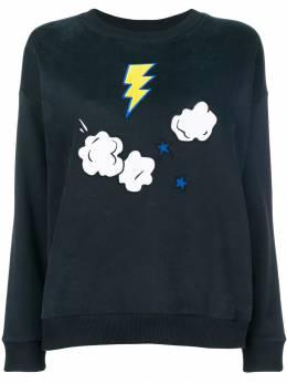Chinti & Parker - свитер с вышивкой и длинными рукавами 59393500600000000000