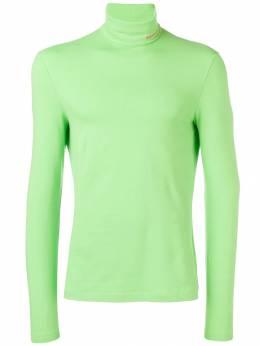 Calvin Klein 205W39nyc - свитер с высоким воротником и вышитым логотипом WTD99936383950000000