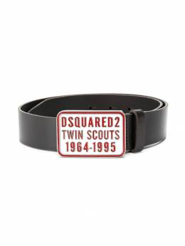 Dsquared2 Kids - ремень с логотипом на пряжке 3BBD66Q9936899890000