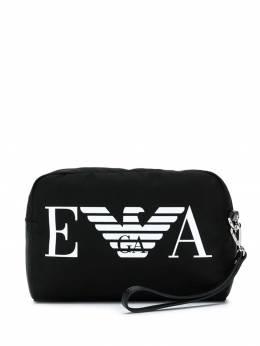 Emporio Armani - косметичка с логотипом 660YFD6E938950960000
