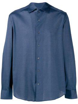 Corneliani - однотонная рубашка на пуговицах 90939393033600000000