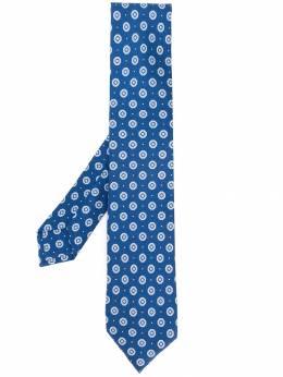Barba - галстук с узором 69609568938300000000