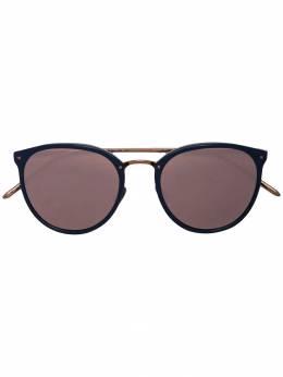 Linda Farrow солнцезащитные очки в круглой оправе LFL251C72SUN