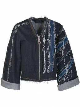 No Ka' Oi джинсовая куртка с прорезями P3CJKNOKW68081A0