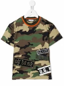 Dolce & Gabbana Kids - футболка с круглым вырезом T3NG3RZK933393600000